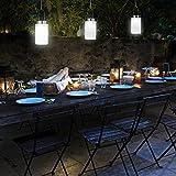 LED Solarlampe – Die Sonnen-Lampe Deko Sun Jar Solar-Laterne im Einmachglas mit Bügel; Warm-Weißes Licht - 6