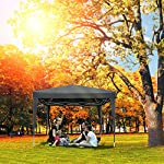 Bunao 3x3m/ 3x6m Pop Up Garden Canopy Waterproof Gazebo Camping Tent Shelter Outdoors 5