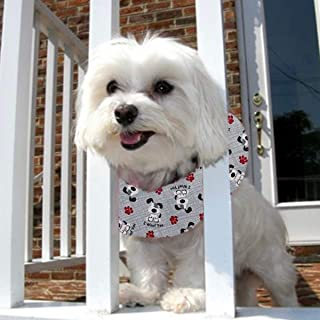 Puppy Bumpers I Woof You - Made in USA 100% Cotton Stuffed Safety Fence Collar to Keep Your pet Safely on The Right Side of The Fence.