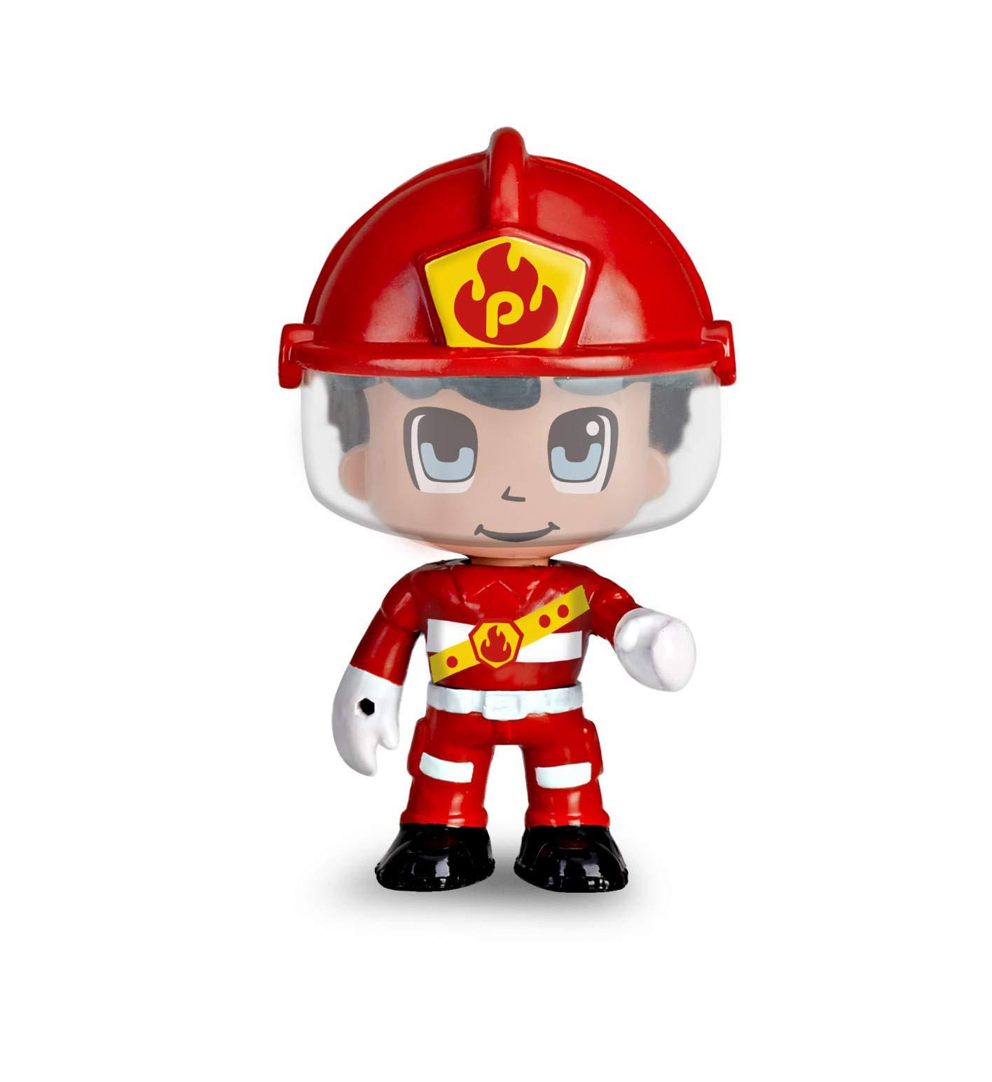 Pinypon Action- Moto de bombero con 1 figura, para niños y niñas a ...