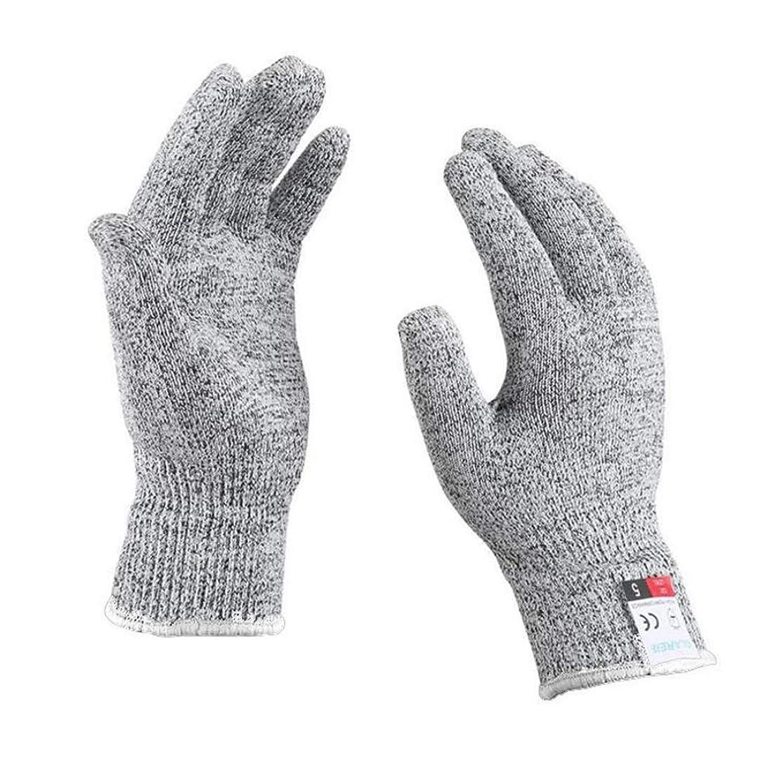 YFFSFDC 防刃手袋 耐切創手袋 作業手袋 手袋 防水 防刃グローブ 軍手 作業用グローブ 防護手袋 滑り止め SMLサイズ (S)