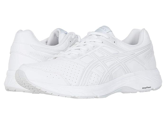ASICS  GEL-Contend 5 Walker (White/Glacier Grey) Mens Running Shoes