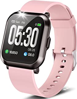 """Fitness Watch, 1.3"""" Touch Screen Smartwatch with Heart..."""