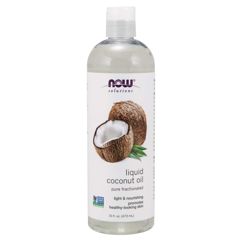NOW Solutions Liquid Coconut 16 Ounce