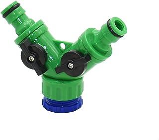 DN20 DN25 FNPT Sdoppiatore per Rubinetto con Raccordo rapido per irrigazione a 1//4 di Pollice Sdoppiatore per Tubo da Giardino Duokon Sdoppiatore per Tubo a 4 Vie