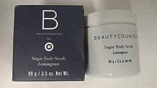 Beautycounter Lemongrass Sugar Body Scrub 3.5 ounce