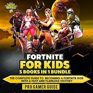 Fortnite for Kids: 5 Books in 1 Bundle cover art
