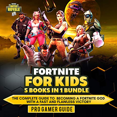 Fortnite For Kids 5 Books In 1 Bundle
