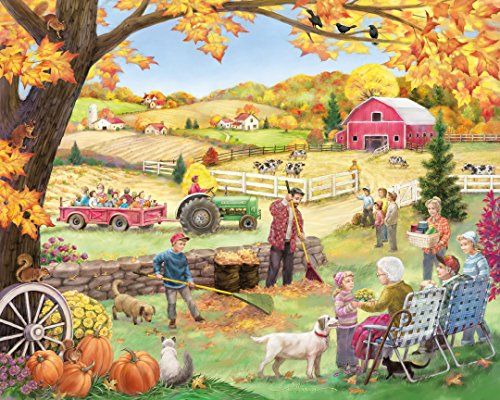 Countryside Autumn Jigsaw Puzzle 1000 Puzzle