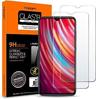 Spigen, 2 Pezzi, Vetro Temperato Xiaomi Redmi Note 8 PRO, Glas.TR, Durezza 9H, Compatibile con Cover, Anti-Graffio, Anti-I...