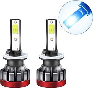 2 PCS Adaskala880 / 881 LED farol de motocicleta 8000K 3000LM Super Bright impermeável LED luz de nevoeiro luz azul para a...