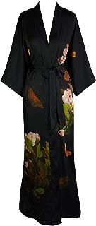 silk kimono long robe