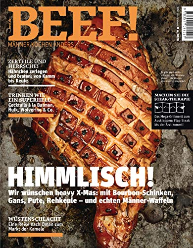 BEEF! Nr. 60 (6/2020): Männer kochen anders