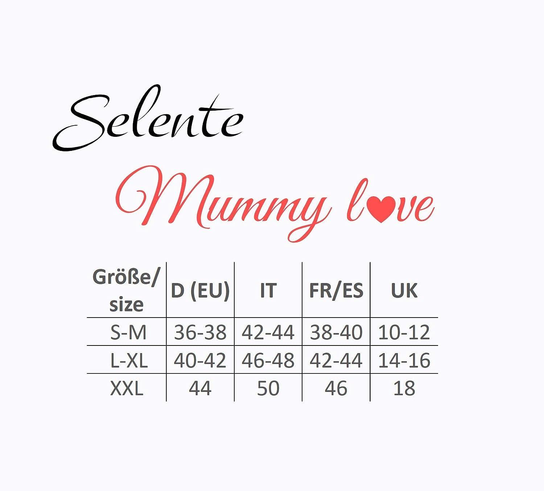 Made in EU. Selente Mummy Love Felpa con Cappuccio//Giacca//Maglia a Maniche Lunghe Premaman in 100/% Puro Cotone