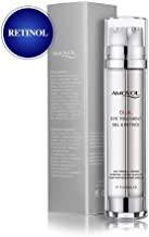 Eye Gel Retinol for Dark Circles, Puffiness, Wrinkles and Bags, Day & Night Anti-Aging Eye Dual Treatment Cream for Under and Around Eyes, Best Gifts for Women and Men, 2 x 0.85oz