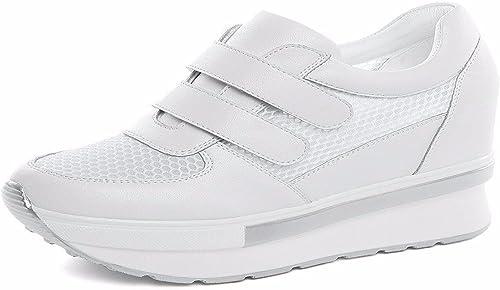 GTVERNH Chaussures pour Femmes Les Chaussures sont épais Et des Chaussures De Fond sont Couverts De Gaze.