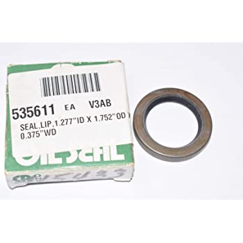 7434 CR Seals Double Lip with Spring Nitrile Oil Seal Nitrile 0.2500 in Width SKF 0.7500 in Shaft 1.2500 in OD CRWA5 CRWA5 Design