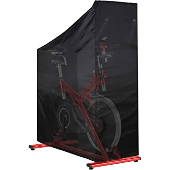 Heavy Duty Waterproof Oxford Cloth Vertical Protective Cover Tonhui Exercise Bike Cover