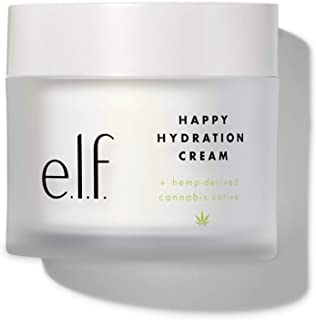 e.l.f. Happy Hydration Cream with Hemp-derived Cannabis Sativa Seed Oil 1.7oz