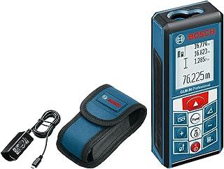 Bosch Professional GLM 80 Medidor láser de distancias, batería de litio integrada, alcance 80 m, inclinómetro, con funda
