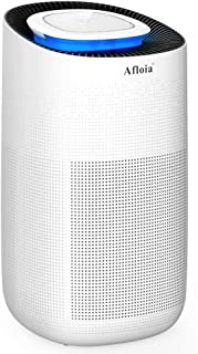 Afloia True HEPA Air Purifier for Home, Office, Large Room Air Cleaner & Deodorizer for Allergies, Pets, Asthma, Smokers, Odors, CADR: 400m /h, Covers 538 sq ft