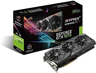 ASUS TeK STRIX-GTX1070-O8G-GAMING 【Aura Sync対応】ROG STRIXシリーズ NVIDIA GeForce GTX1070搭載ビデオカード オーバークロック メモリ8GB GAMING [並行輸入品]