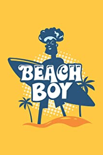 Beach Boy: Daily and Multi Year Planner 6x9 120 Pages