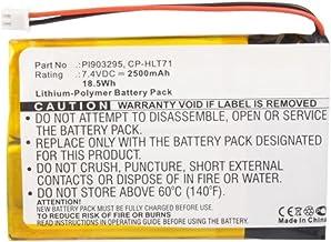 MPF Products 2500mAh HLT71BAT, PL90329, CP-HLT71 Battery Replacement Compatible with Haier HERLT71, HLT71, 805-01-NL Digit...