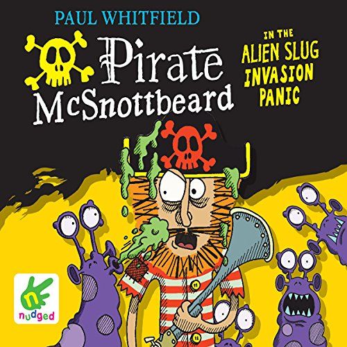 Pirate McSnottbeard in the Alien Slug Invasion Panic cover art