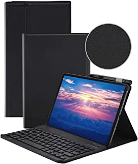 AWH Keyboard Case for Samsung Galaxy Tab S6 Lite 10.4 Inch Tablet 2020 (SM-P610/ SM-P615) with S Pen Holder, Slim Stand PU...