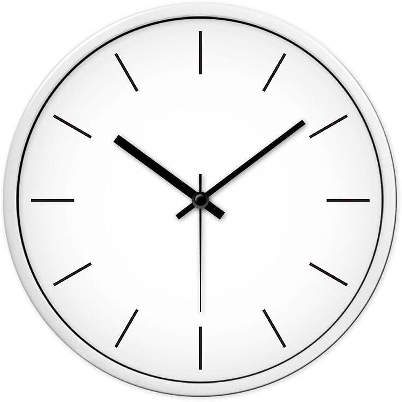 tienda de venta en línea Relojes de parojo Decoración del hogar Minimalista Minimalista Minimalista Ronda Mudo Cuarzo Dormitorio Sala de Estar Cocina Oficina Decorativo CHENGYI  últimos estilos
