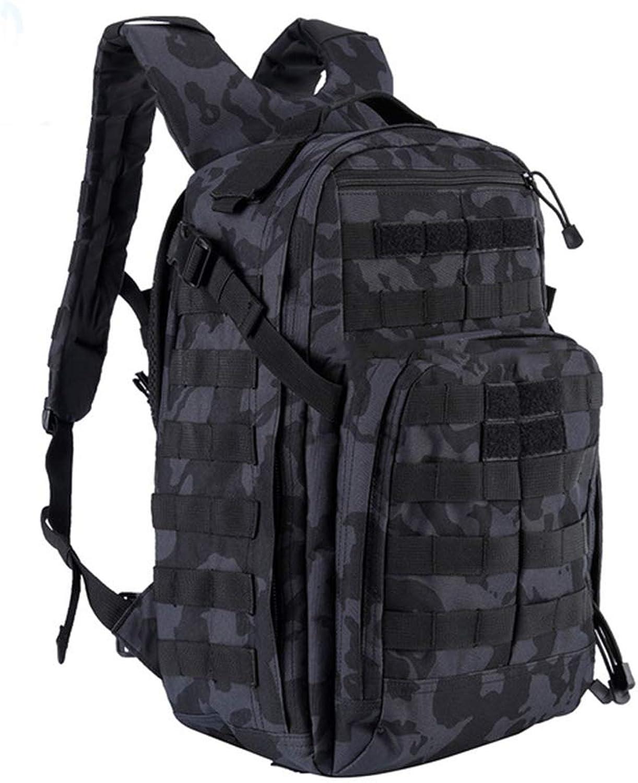 COOLisland 24-Stunden-Angriff taktischer Rucksack Outdoor-Militär Enthusiasten Enthusiasten Enthusiasten Wanderrucksack Wild Adventure Tarnung Tasche,CPschwarz B07QF6LSKC  Mittlere Kosten 732234