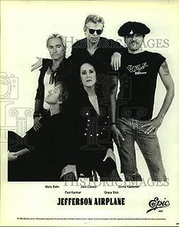 1989 Press Photo Jefferson Airplane, Rock Band - sap10996