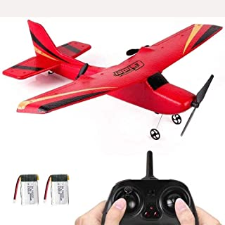 Mopoq Rc Plane 4 Channel Remote Control Airplane Ready to Fly Rc Planes for Adults,Easy & Ready to Fly,Stunt Flying Upside...