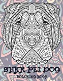 Shar-Pei Dog - Coloring Book