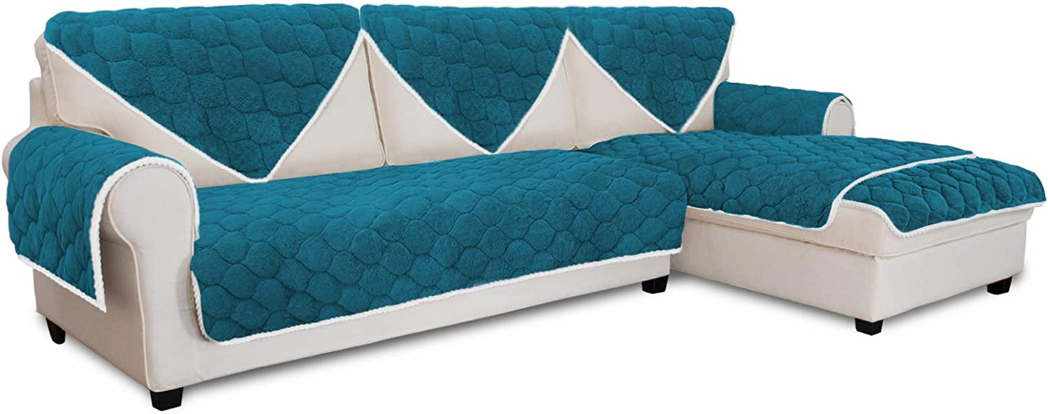 Easy-Going Super 百貨店 Soft Plush Couch Cou Anti-Slip Cover 店内限界値引き中 セルフラッピング無料 Sectional
