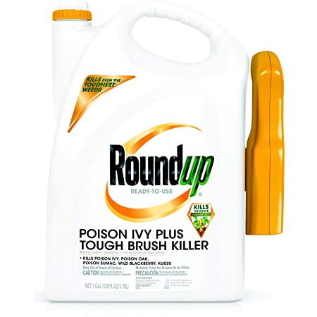 Roundup Ready-to-Use Poison Ivy Plus Tough Brush Killer Trigger (with Trigger Sprayer), 1 gal.