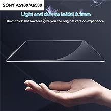 Mississ 0.3mm optischer Film des Stahl-9H ausgeglichenes optisches Glas-Schirm-Schutz-Folien-Haut-Film für Sony RX100 / A77 / A6000A / 6400 / RX100 / A7 / A6300 Refined