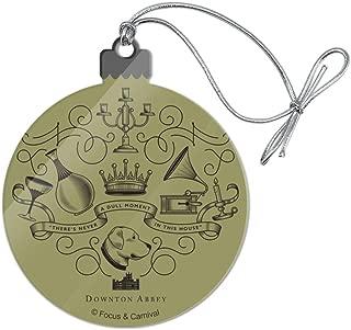 GRAPHICS & MORE Downton Abbey House Accounts Acrylic Christmas Tree Holiday Ornament