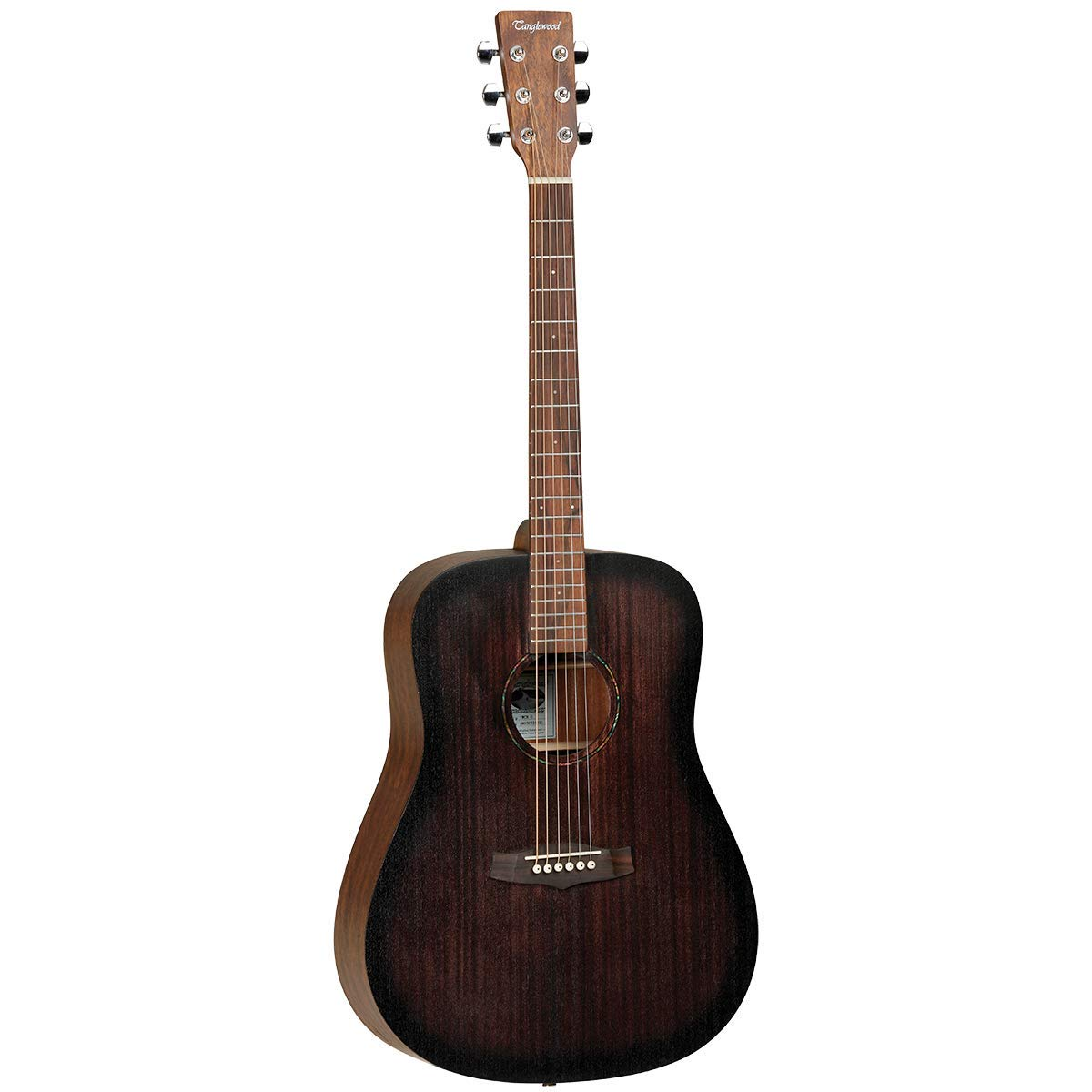 Tanglewood TWCRD Crossroads - Guitarra acústica, color caoba ...