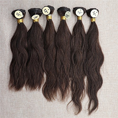 Natural Weaves For Wig Making 10'x2pcs,12'x2pc,14'x2pc Human Hair Weave...