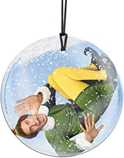 Trend Setters Will Ferrell – Buddy The Elf – Snow Globe – Christmas Movie Collectible - Suncatcher Hanging Glass Collectible