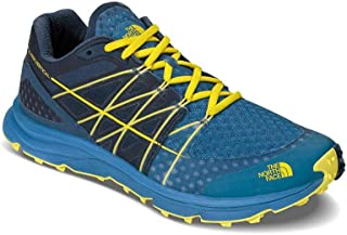 The North Face Men's M Ultra Vertical Seaport Blue/Acid Yellow