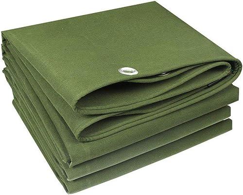 TongN Bache imperméable Haute Perforhommece avec Corde Vert 500 g m2, Polyester, 3 x 4 m