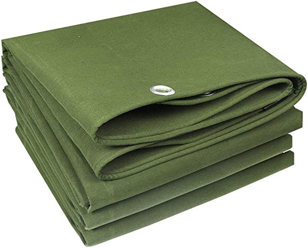 TongN Bache imperméable Haute Perforhommece avec Corde Vert 500 g m2, Polyester, 3x5m