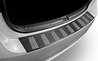 BJ 10.2013 Sto/ßstangenschutz passgenau mit Abkantung ABS Sonderfarbe Carbon Optik Aroba AR9700 Ladekantenschutz kompatibel f/ür SUZUKI SX4 S-Cross ab