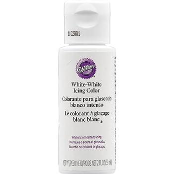 Wilton Rein-Weiß Lebensmittelfarbe, 59ml (2 oz)