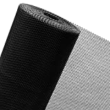 HaGa® Maulwurfgitter - 2m Breite - Meterware - Schwarz - Schutz vor Maulwürfen - 7mm Maschenbreite