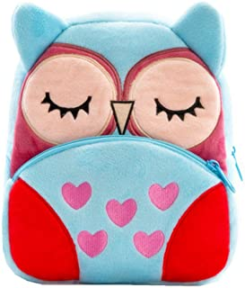 Cute Kids Toddler Backpack Plush Toy Animal Cartoon Children Bag for 2~5 Years Baby