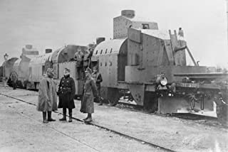 Posterazzi Wwi Nan Austrian Armored Train in Galicia. Photograph C1914 Poster Print, 18